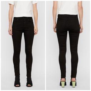 J. Linderberg Uma High Waist Rise Skinny Leg Jeans
